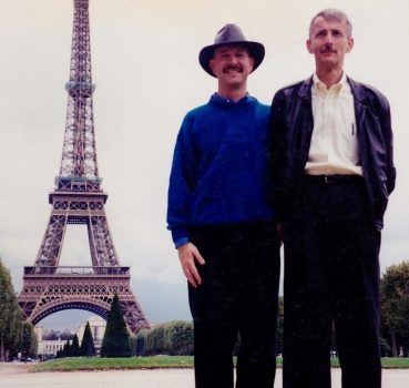 1st trip to Paris together