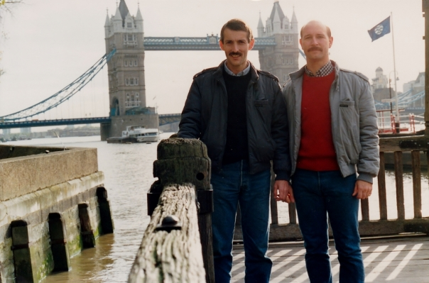 Our 1st trip to London 1986