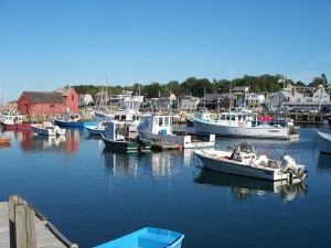 Rockport MA harbor