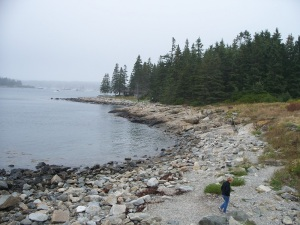 Marshall's Point, near Rock-something, ME