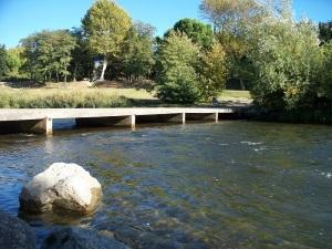 Footbridge Parc Bellevue
