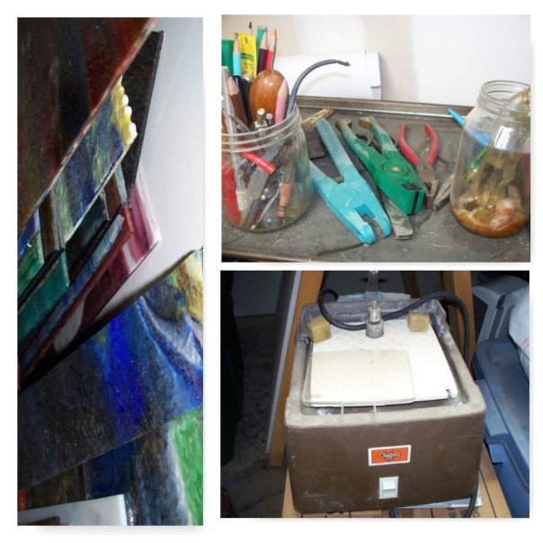 Stained glass hobby anyone? I will clean the dust off before you see it.
