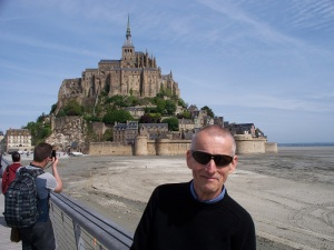 The Tour de France starts here at Mont St. Michel