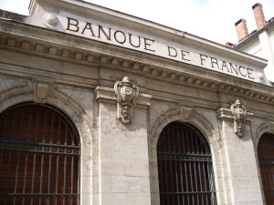 The Bank of France building in Carcassonne