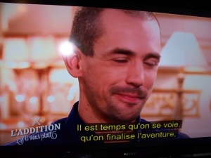 "The TF1 program ""L'addition s'il vous plait"