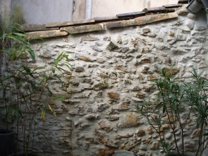 Part of our stone walls