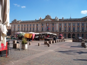 Capitol building in Toulouse