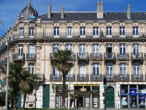 Insurance building, Place Davilla, Carcassonne