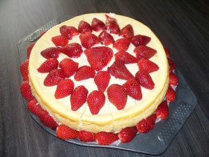 Bill's homemade cheesecake