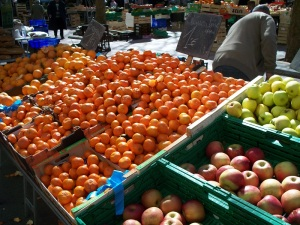 Clementines at the market