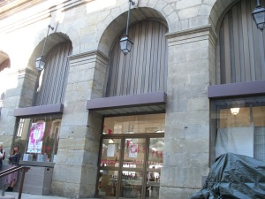18th century Les Halles exhibit center