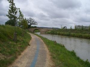 Stone bridge over the canal