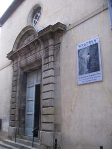 the Jesuit chapel