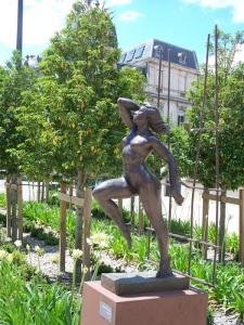 "I call this statue ""Superwoman"""