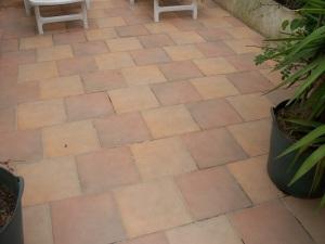 Courtyard tiles