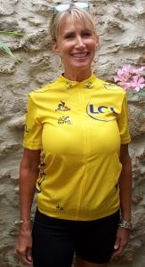 Replica of the winner's jersey