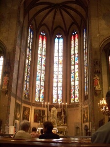 15th century stained glass windows