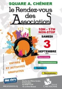 The annual showcase of Associations poster (from the city's website)