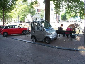 Narrow cars for narrow streets
