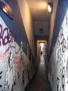 The narrowest street