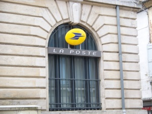 A post office in Carcassonne