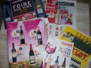This week's wine advertisements