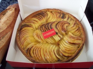 Fresh apple tarte