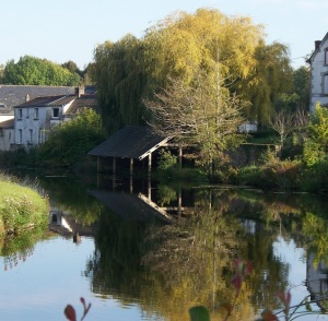 Lavoir (wash house), Pontivy, Brittany