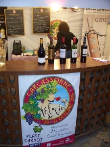 Tasting and a bottle to take home from this booth