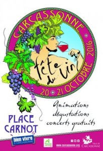 Wine festival poster from the city's website