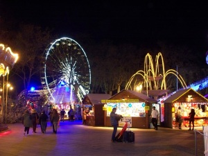 Part of the Christmas market