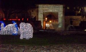 The Jacobean gate through the city walls