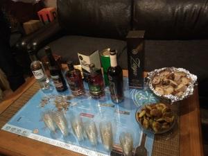 Ready to taste the rum