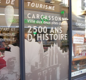 Tourist office window