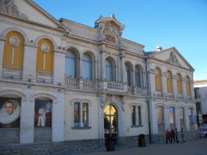 The city's fine arts museum