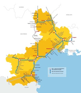 All part of the 1 euro rail network