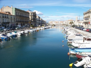 The Canal Royal in Sète
