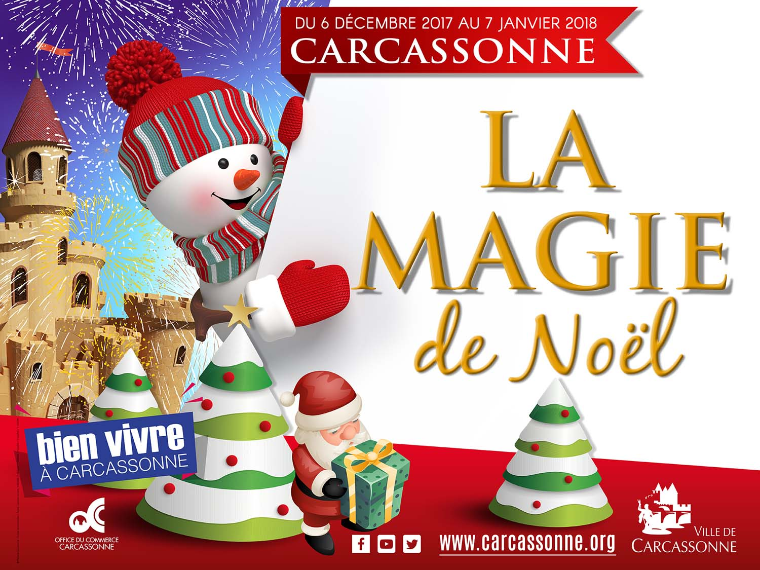 noel 2018 a carcassonne Christmas magic in Carcassonne | Let's Live In France noel 2018 a carcassonne